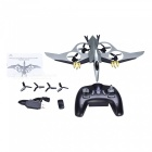 JXD 511V Pterosaurukset 2,4 GHz 4CH RC Quadcopter w / 0,3MP Kamera - hopea