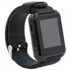 "MTK2621 1.5"" Bluetooth Smart Watch/ Wristband w/ Pedometer - Black"