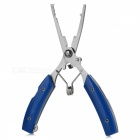 Outdoor Multifunction Fishing Pliers + 2 Spring Cables w/ Hook / Ring