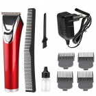 KEMEI KM-841 Professional Electric Hair Clipper - Red