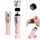 Kemei KM-1012 Electric Hair Shaver for Ladies - Pink (1 x AA)