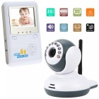 "2.4"" LCD 2.4GHz Wireless Digital Baby Monitor w/ 9-IR LED (EU Plugs)"