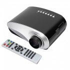 Mini LED Projector HD Contrast Ratio 500:1 w/ HDMI, SD, USB, Audio