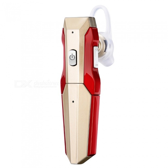 LE ZHONG DA Transformers Style New Bluetooth Headset - Golden + Red
