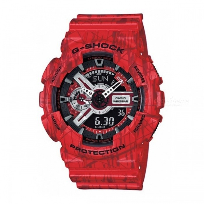 Casio G-SHOCK GA-110SL-4ADR Men's Quartz Watch - Red + Black
