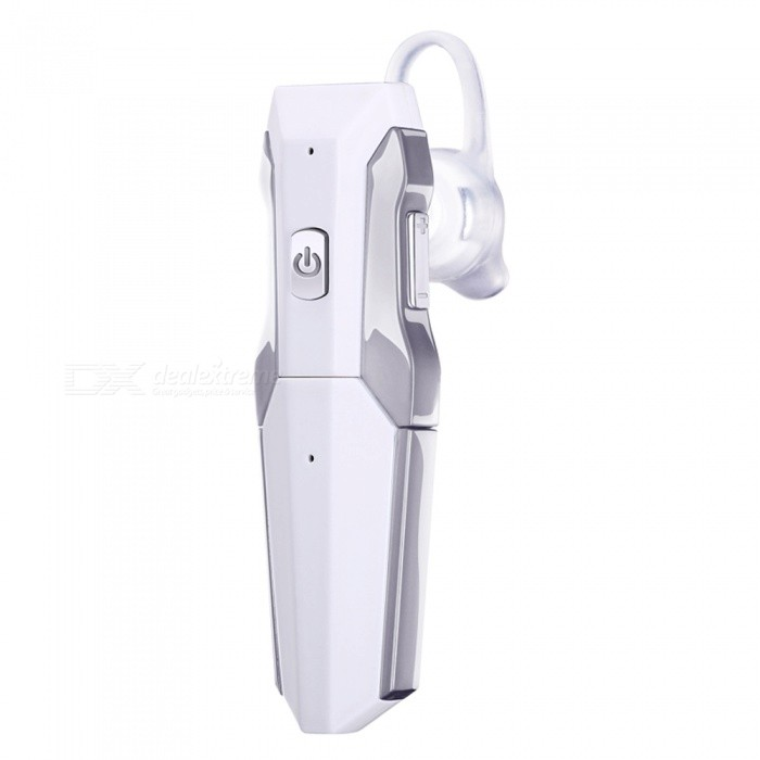 LE ZHONG DA Transformers Style New Bluetooth Headset - White + Silver