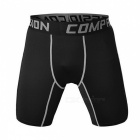 Outdoor Multi-functional Men's Sports Fitness Shorts - Grey (M)