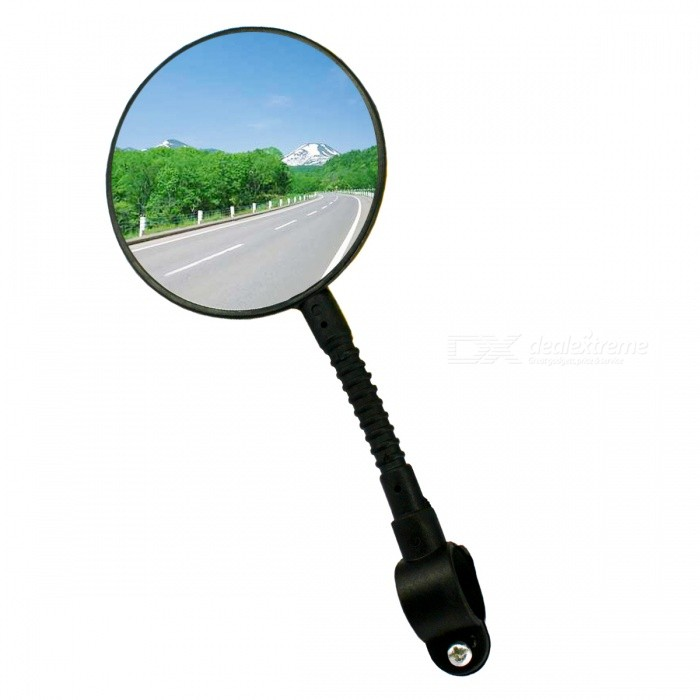 Bicycling Equipment, Bicycles, Electric Car Rear View Mirror - Black