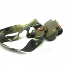 XPE + COB LED Lampe de poche Zoomable mini lampe de poche - Army Green