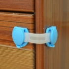 Multifunction Lengthened Baby Safe Drawer Locks (10PCS) - Blue + White