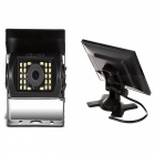 "KELIMA 7"" Bluetooth MP5 Car Display Monitor w/ Reversing Camera"