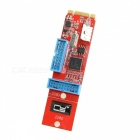 CY 19 20Pin USB 3.0 Female to NGFF M.2 B+M Key Male Adapter Card