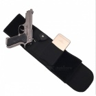 Outdoor Tactical Hidden Design Upgraded Belt Pistol Holster - Black
