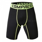 Outdoor Multi-functional Men's Sports Fitness Shorts - Green (L)