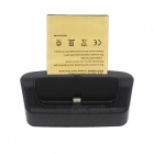 OTG Charging Dock + 3800mAh Battery + Charging Cable - Black + Golden