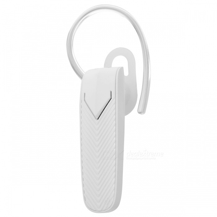 Casque intra-auriculaire JEDX sans fil Bluetooth v4.1 (version musicale) - Blanc