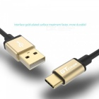 GTcoupe High Speed Gold Plated USB Type-C to USB Charge Cable (1m)
