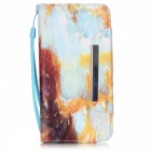 BLCR 3D Marble Pattern Leather Wallet Case for IPHONE 6 / 6S Plus