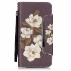 BLCR 3D Crabapple Pattern Leather Wallet Case for IPHONE 6 / 6S Plus