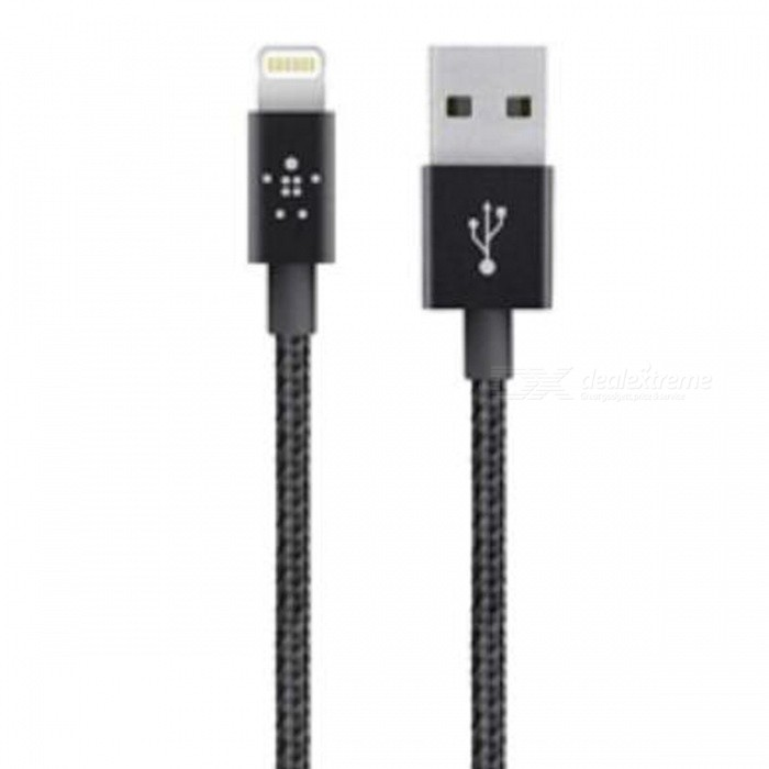 Belkin MIXIT Metallic Lightning to USB Cable - Metal Black