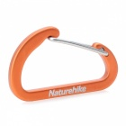 NatureHike 4cm Type-D Alloy Quick Release Buckle - Orange (2 PCS)