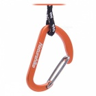 NatureHike 4 cm Type-D Alloy Quick Release Buckle - Orange (2 ks)