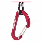 NatureHike 4cm Type-D Alloy Quick Release Buckle - Red (2 PCS)