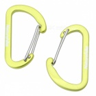 NatureHike 4cm Type-D Alloy Quick Release Buckle - Green (2 PCS)