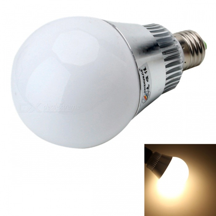 ZHISHUNJIA E27 7W 560lm 14-SMD 5630 LED Warm White Light Lamp Bulb