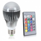 KWB 10W E27 LED RGB Bulb w/ Remote Control Color Changing (AC 85~265V)