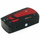 DC 12V 100A Car Laser Detector, Detecting any Stable / Mobile 250~2500m Ahead - Black + Red