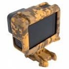 Ismartdigi i395C Camouflage Border Case w/ Bracket for Gopro Hero 5