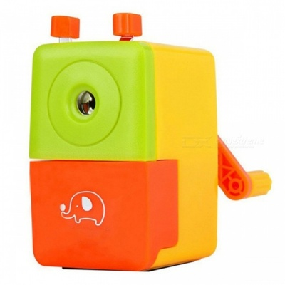 Cartoon Style Manual Pencil Sharpener (Random Color)