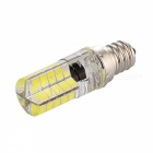 YWXLight E12 LED 3W 40-5730SMD Cool White Light Silicone Lamp