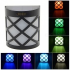 Joyshine N763D 5050 SMD LED Solar Light Colorful Wall Courtyard Lamp