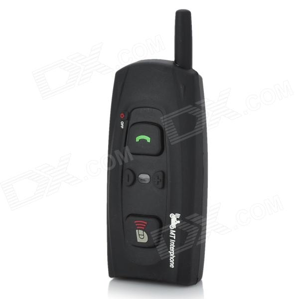 Interphone + Bluetooth Handsfree for Motorcycle and Skiing Helmet (7-Hour Talk/100-Hour Standby)