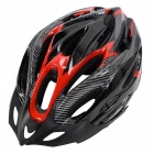 21 Holes Cycling Bicycle Bike Safety Helmet - Black + Red