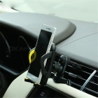 REMAX RM-03 Mobile Phone Navigator Car Outlet Bracket - Black + Yellow