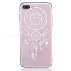 Key + Campanula Pattern TPU Case Cover for IPHONE 7 PLUS - Transparent