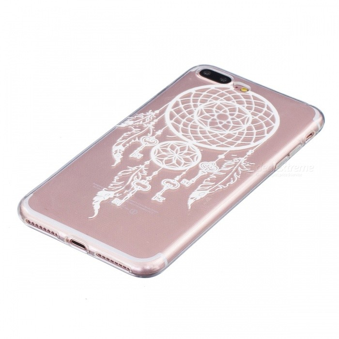 Key campanula pattern tpu case cover for iphone 7 plus for Coque iphone 7 portefeuille