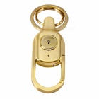 Multi-functional Bluetooth Anti Lost Alarm Metal Key Rings - Golden