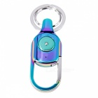 Multi-functional Bluetooth Anti Lost Alarm Key Rings - Blue + Silver