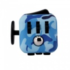 Updated Version Dice Cubic Toy for Focusing - Camouflage Blue