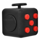 Updated Version Dice Cubic Toy for Focusing - Black + Red