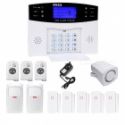 7 Wired and 99 Wireless Defense Zones, LCD Time Clock Display, Voice Prompt for all Operations,