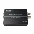 Wiistar WS-Z24W 1080P 3G-SDI to VGA HDTV Video Converter