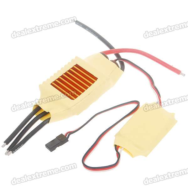 Speed Controller 50A BEC for Brushless Motors on R/C Helicopters