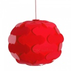 YouOKLight Spherical Shaped Chandelier Ceiling Pendant Lampshade - Red