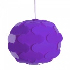 YouOKLight DIY Spherical Shaped Chandelier Ceiling Lampshade - Purple