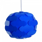 YouOKLight Spherical Shaped Chandelier Ceiling Pendant Lampshade, Blue